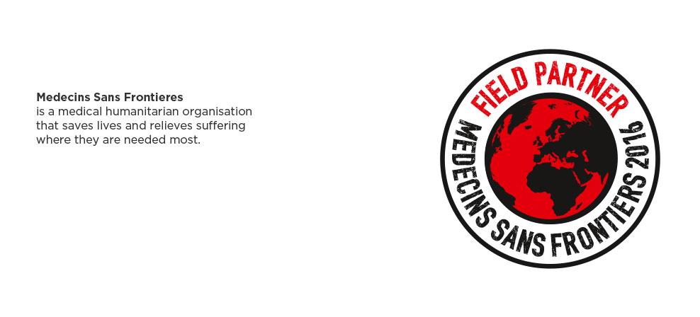 <FONT color=#ec0613>Elanders supports<BR>Medecins Sans Frontieres.</FONT>