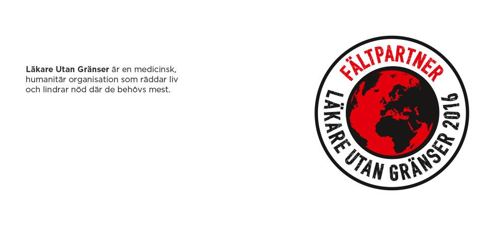 <FONT color=#e40613>Elanders stöder<BR>Läkare Utan Gränser.</FONT>